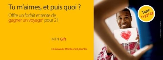 MTN Gift et puis quoi