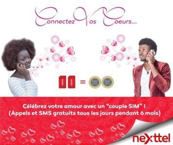 Couple SIM Nexttel