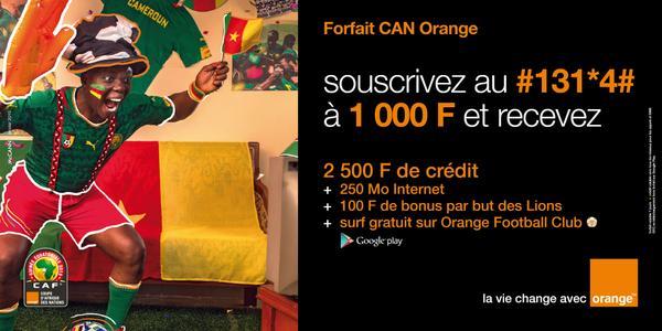 Forfait CAN Orange