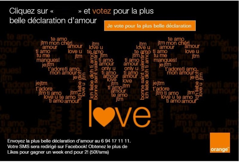 Beaucoup Dhumour Sur Lapplication Sms Love Dorange