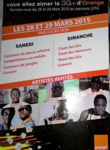 Photo  du Flyer de l'event