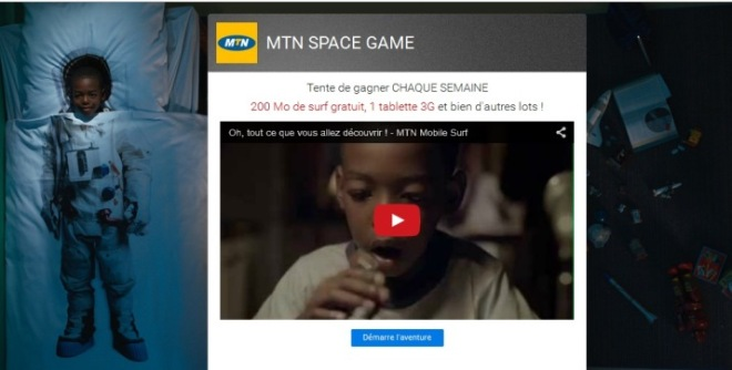 MTN Space Game
