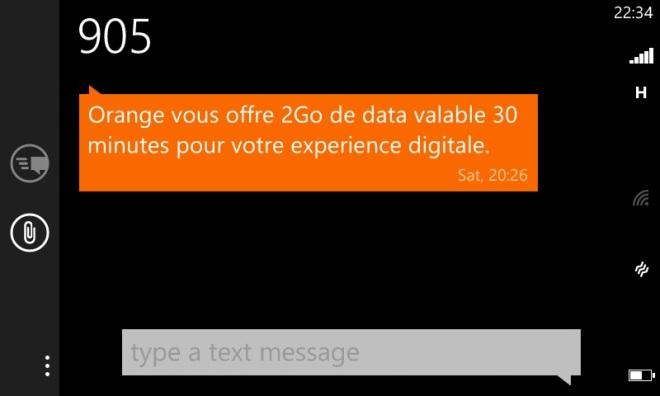 SMS Bonus  Data 3G+