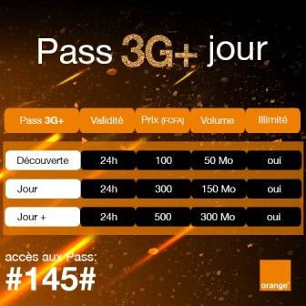 Pass 3G+ Jour chez Orange
