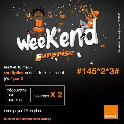 Weekend Surprise Orange
