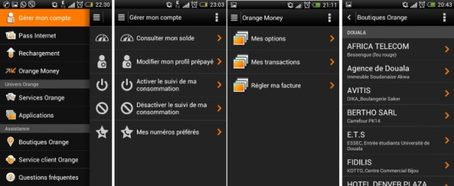 Services My Orange Cameroun