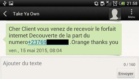 Take Ya Own SMS