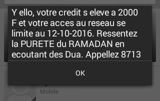 Info crédit Ramadan