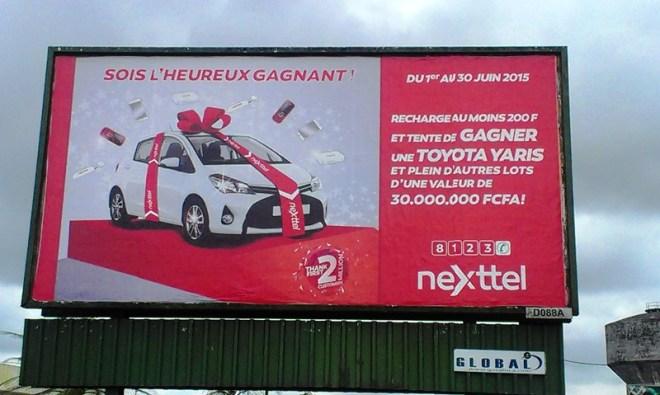 Affiche Nexttel