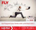 Désormais les forfaits Fly Daily 3 et tous les forfaits Hebdomadaires et mensuels donnent droit à internet gratuit après épuisement du volume.