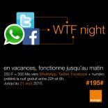 Orange WTF Night