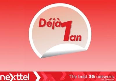 1 an deja Nexttel Cameroon
