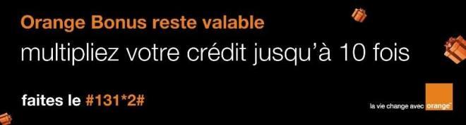 10 fois plus de bonus avec Orange Bonus