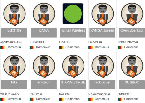 Les 10 finalistes de L'Orange Developer Challenge cameroun2015