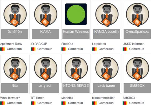 Les 10 finalistes de L'Orange Developer Challenge cameroun2015