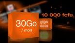 30 Giga à 10 000F Orange