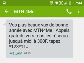 MTN 4ME SMS