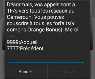 Orange Tous réseaux notif Orange bonus