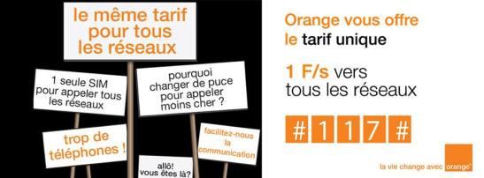 Tarif Unique - Orange Tous Réseaux