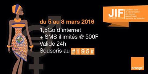 Orange JIF promo