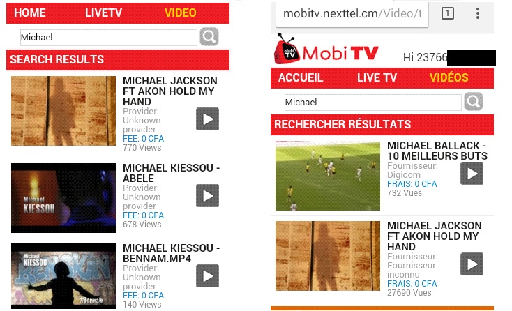 Mobi Tv Search Michael