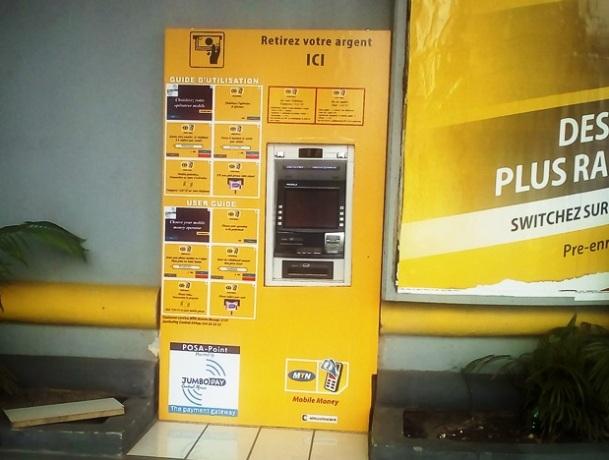 MTN Mobile Money ATM