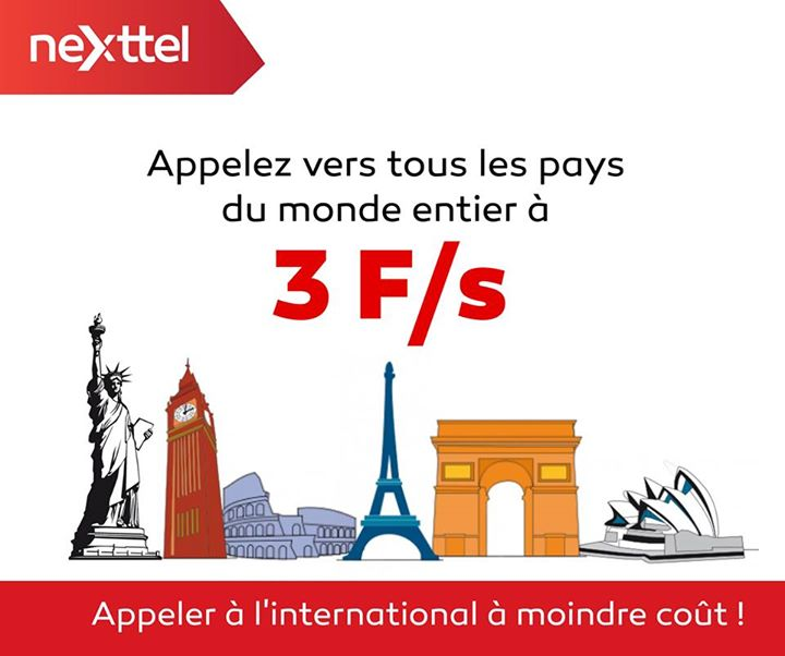 nextell Appel international 3F