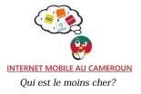 Internet mobile au cameroun - qui est le moins cher
