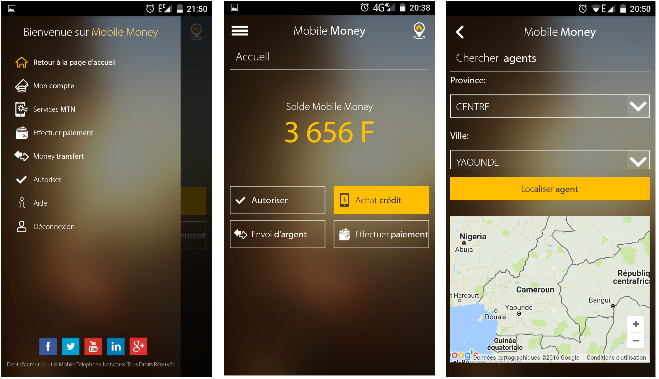 MyMTN Mobile Money Cameroun