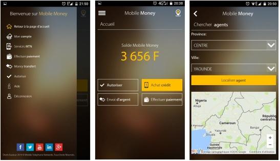 MyMTN Mobile Money Cameroun