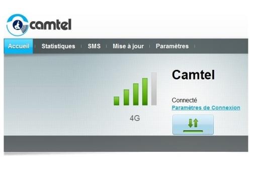 Espace de connexion Camtel 4G