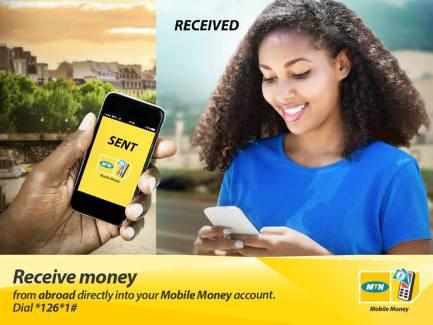 MTN Cameroon- Recevoir de l'argent de l'étranger